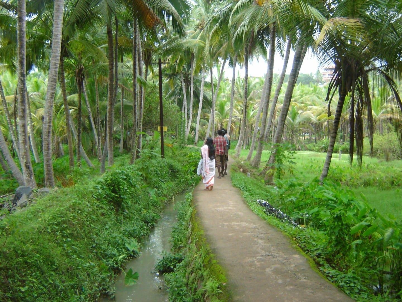 El pueblo de Kovalam Kovalam India