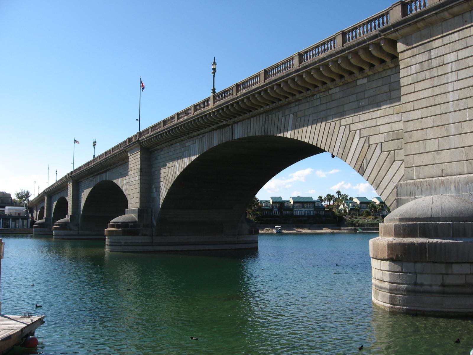 El puente de Londres Lake Havasu, AZ Estados Unidos