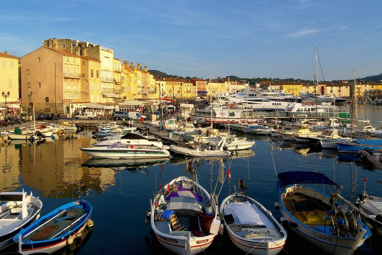 El puerto de Saint-Tropez Saint tropez Francia