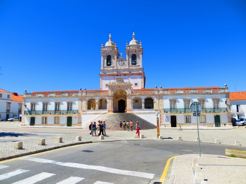 El Santuario de Nuestra Señora de Nazaré Nazaré Portugal