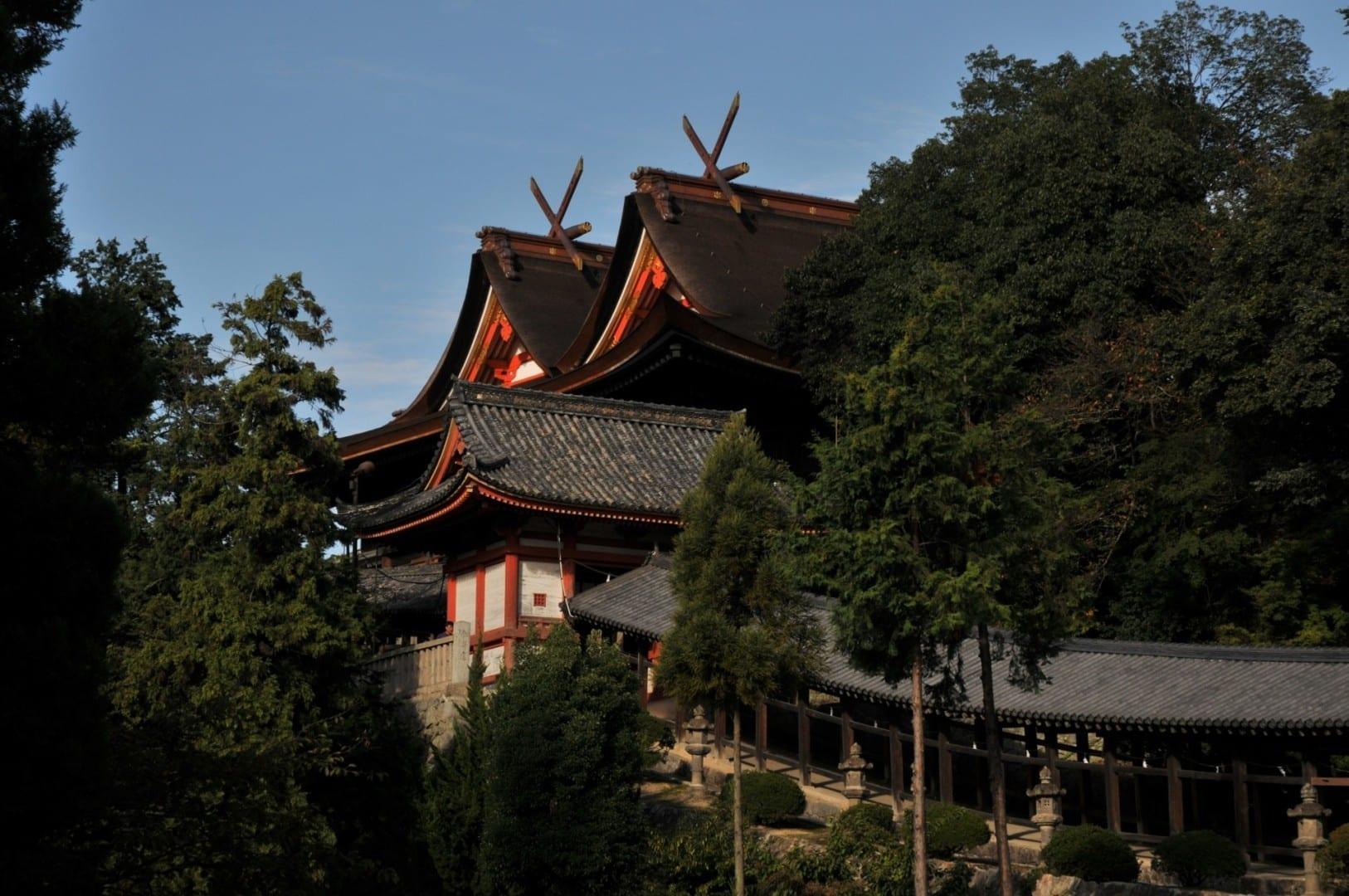 El Santuario Kibitsu Okayama Japón