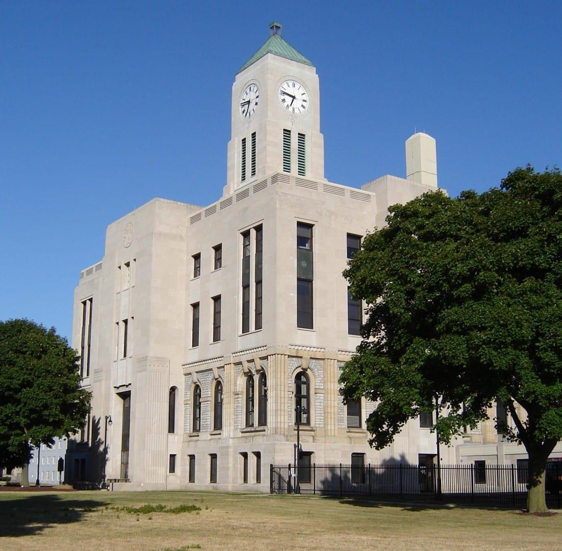El Tribunal del Condado de Erie Sandusky OH Estados Unidos