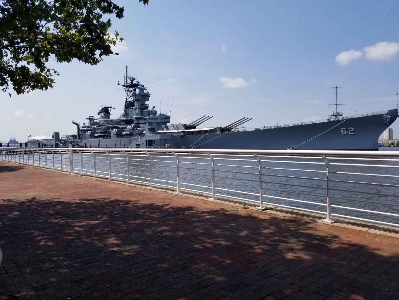 El USS New Jersey Camden NJ Estados Unidos