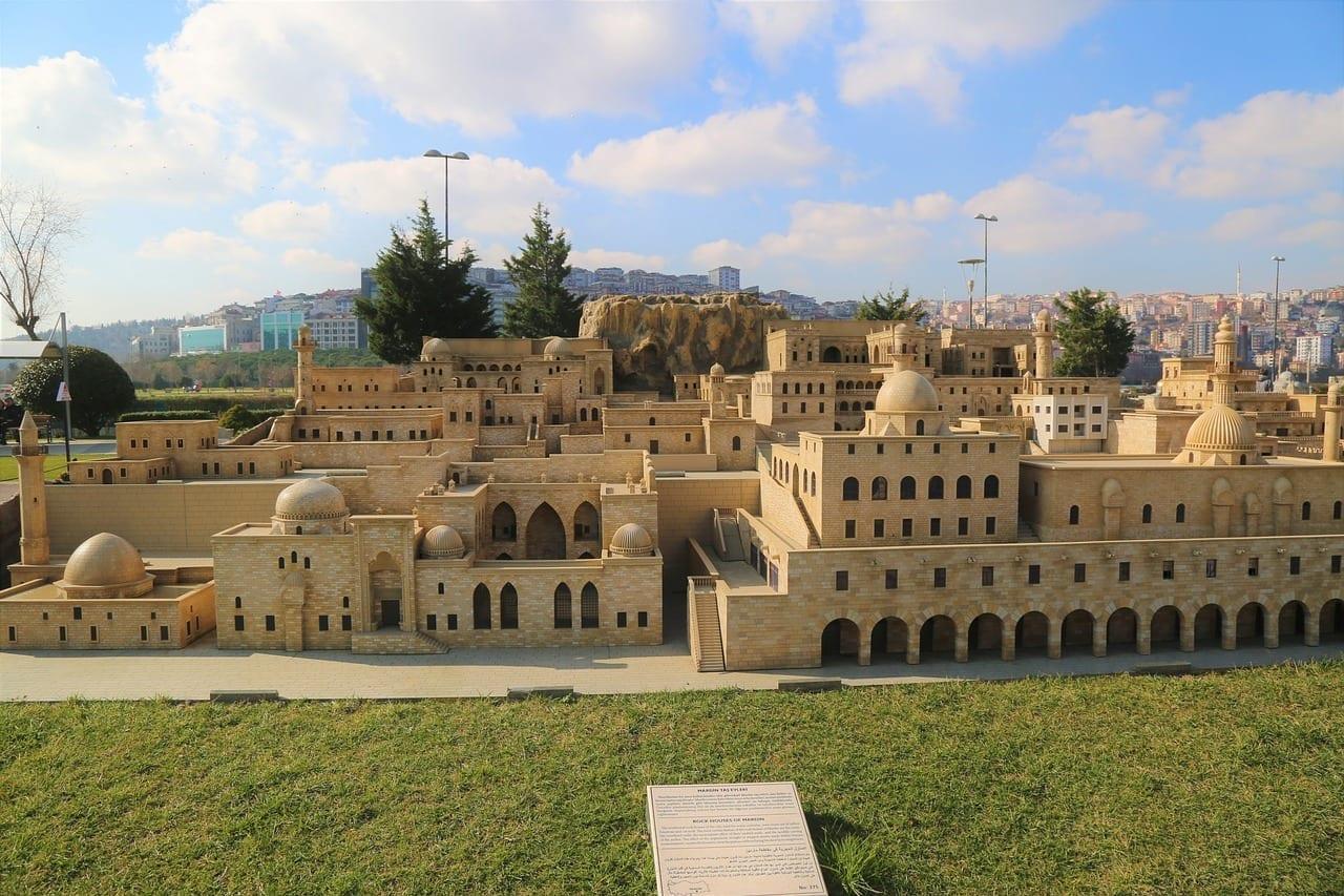 En Istanbul Mardin Casas De Piedra Turquía