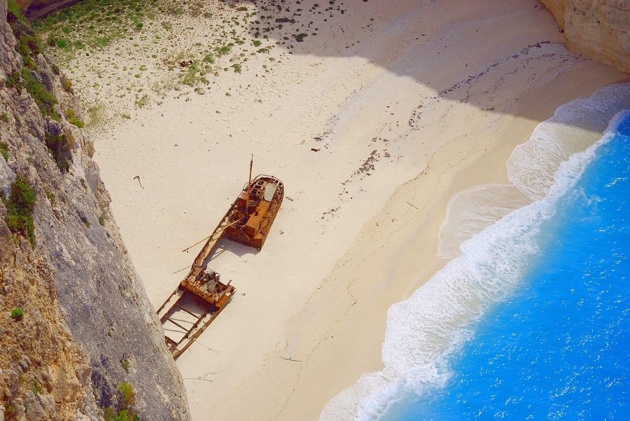 Ensenada Playa Bahía Navagio México