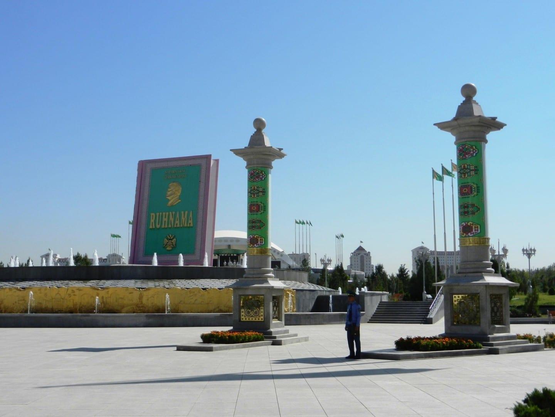 Escena callejera de Ashgabat Ashgabat Turkmenistán
