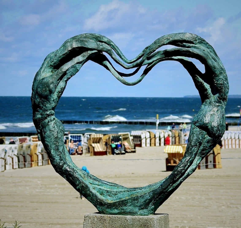 Escultura Kołobrzeg El Mar Báltico Polonia