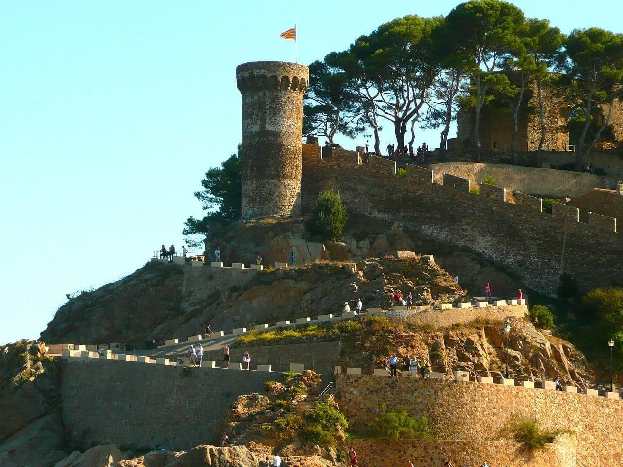 España Castillo Tossa De Mar España