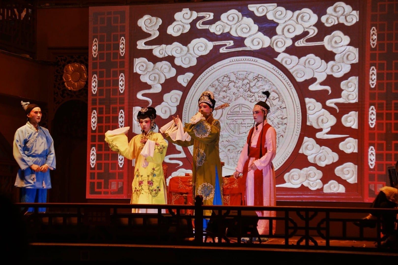 Espectáculo de ópera pública Huogongdian Changsha China