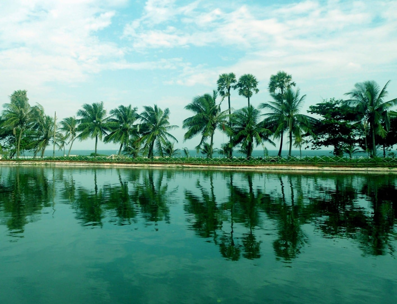 Estanque de agua del parque VUDA, Visakhapatnam Visakhapatnam India