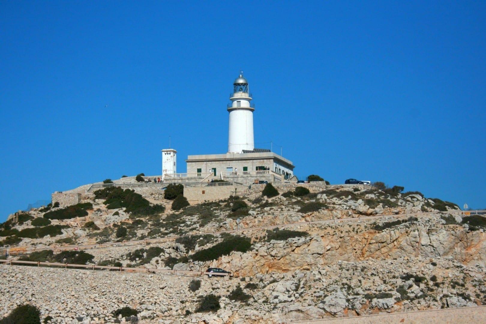 Far de Formentor en Cap de Formentor Pollensa, Mallorca España