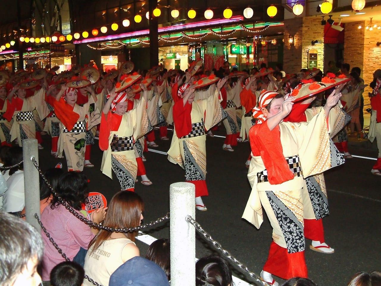 Festival de Hanagasa Yamagata Japón