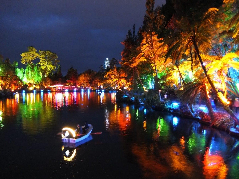 Festival de las Luces New Plymouth Nueva Zelanda