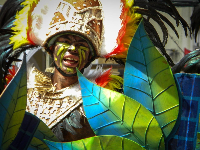 Festival Dinagyang de la ciudad de Iloilo. Iloílo Filipinas