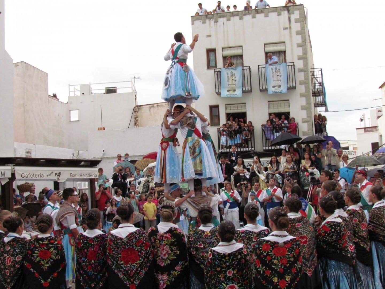 Fiestas patronales en honor a la Mare de Déu de l'Ermitana Peñiscola España