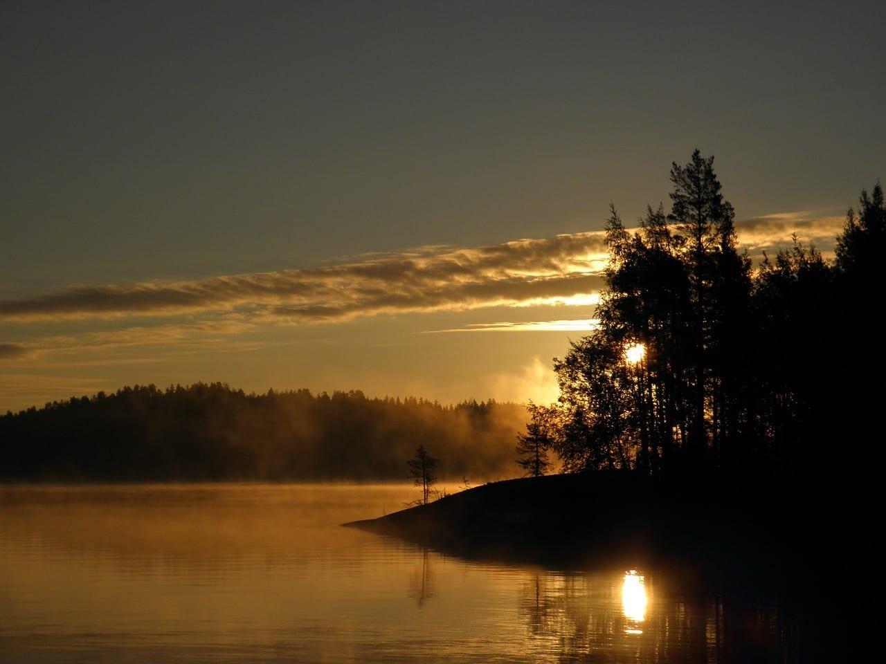 Finlandés Savonlinna Saimaa Finlandia