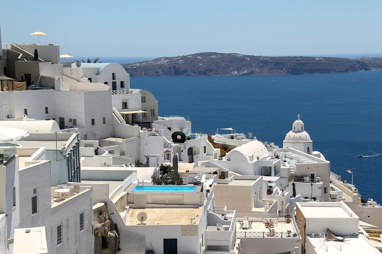 Fira Santorini Grecia Grecia