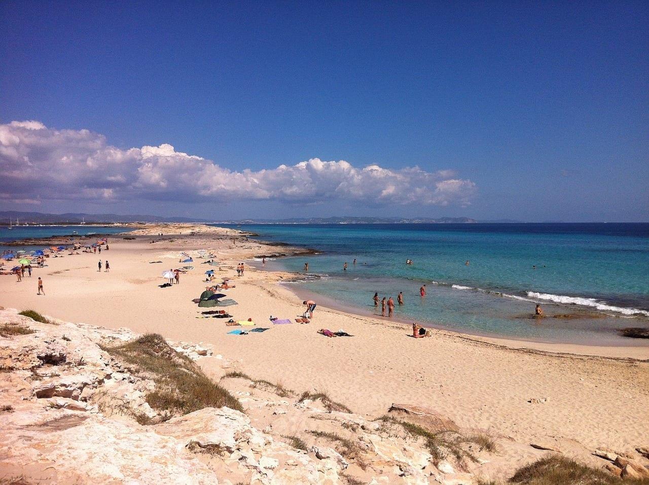 Formentera Playa Costa España