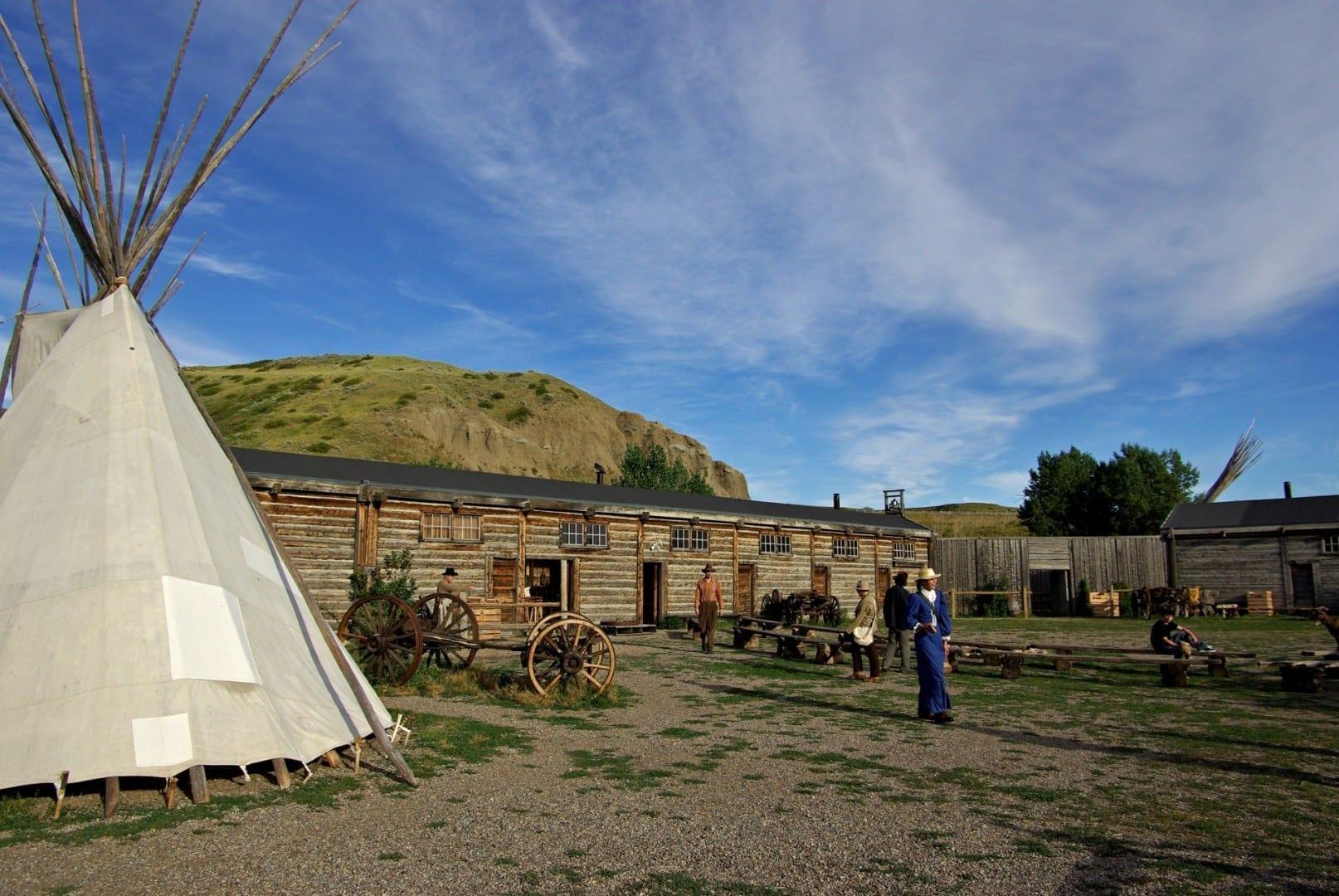 Fort Whoop Up Sitio Histórico Nacional Lethbridge Canadá