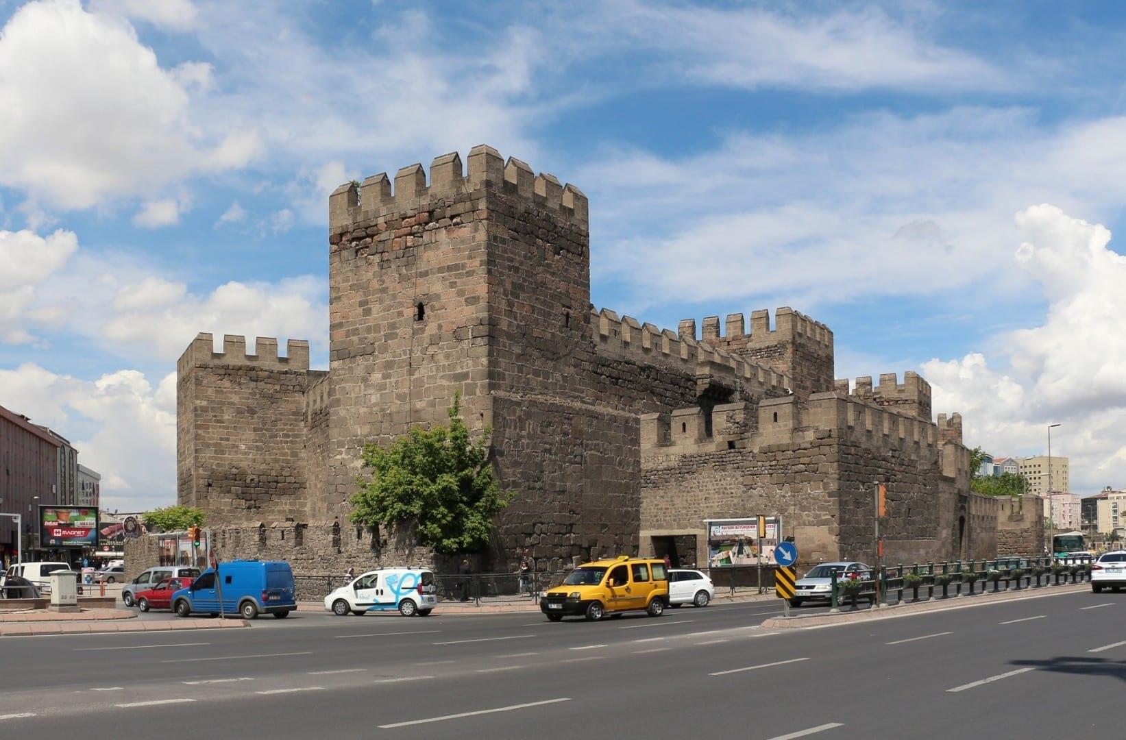 Fortaleza de Kayseri Kayseri Turquía
