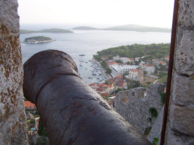 Fortaleza Isla de Hvar Croacia