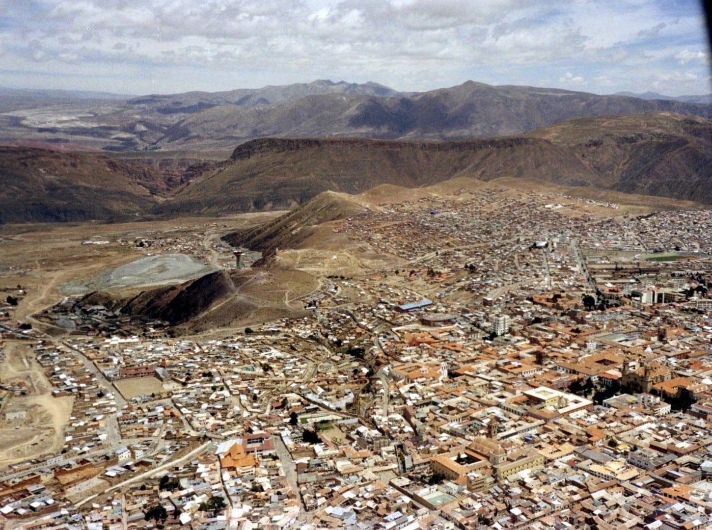 Foto aérea de Potosí Potosi Bolivia