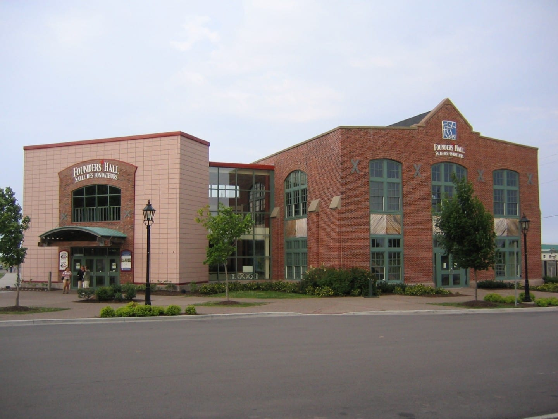 Founder's Hall en el muelle de Charlottetown. Charlottetown Canadá