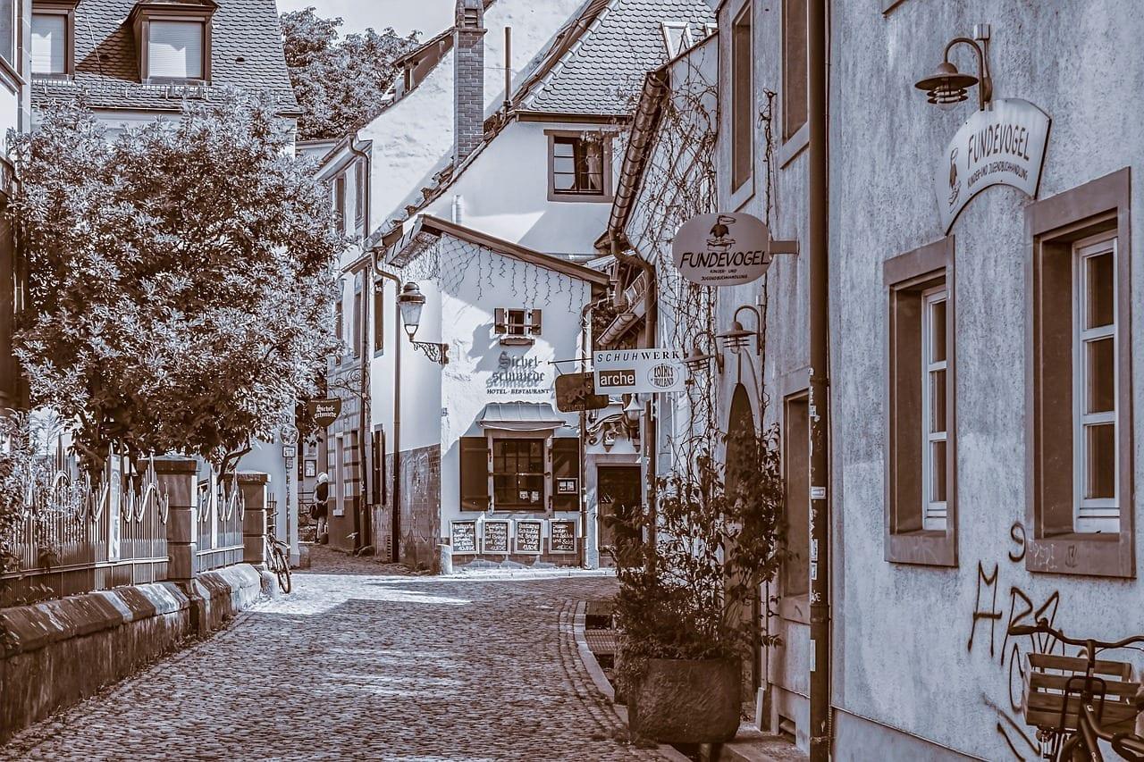 Friburgo Centro Historico Arquitectura Suiza