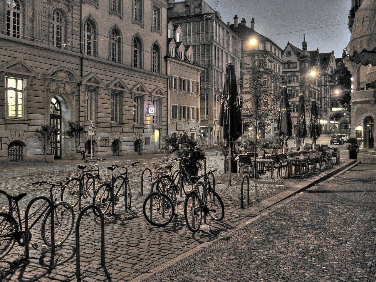 Friburgo De La Ciudad Alemania Suiza