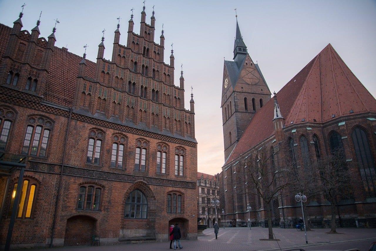 Göttingen Histórica Iglesia Alemania