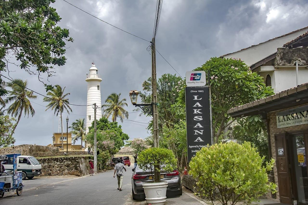 Galle Galle Fort El Sur De Sri Lanka Sri Lanka
