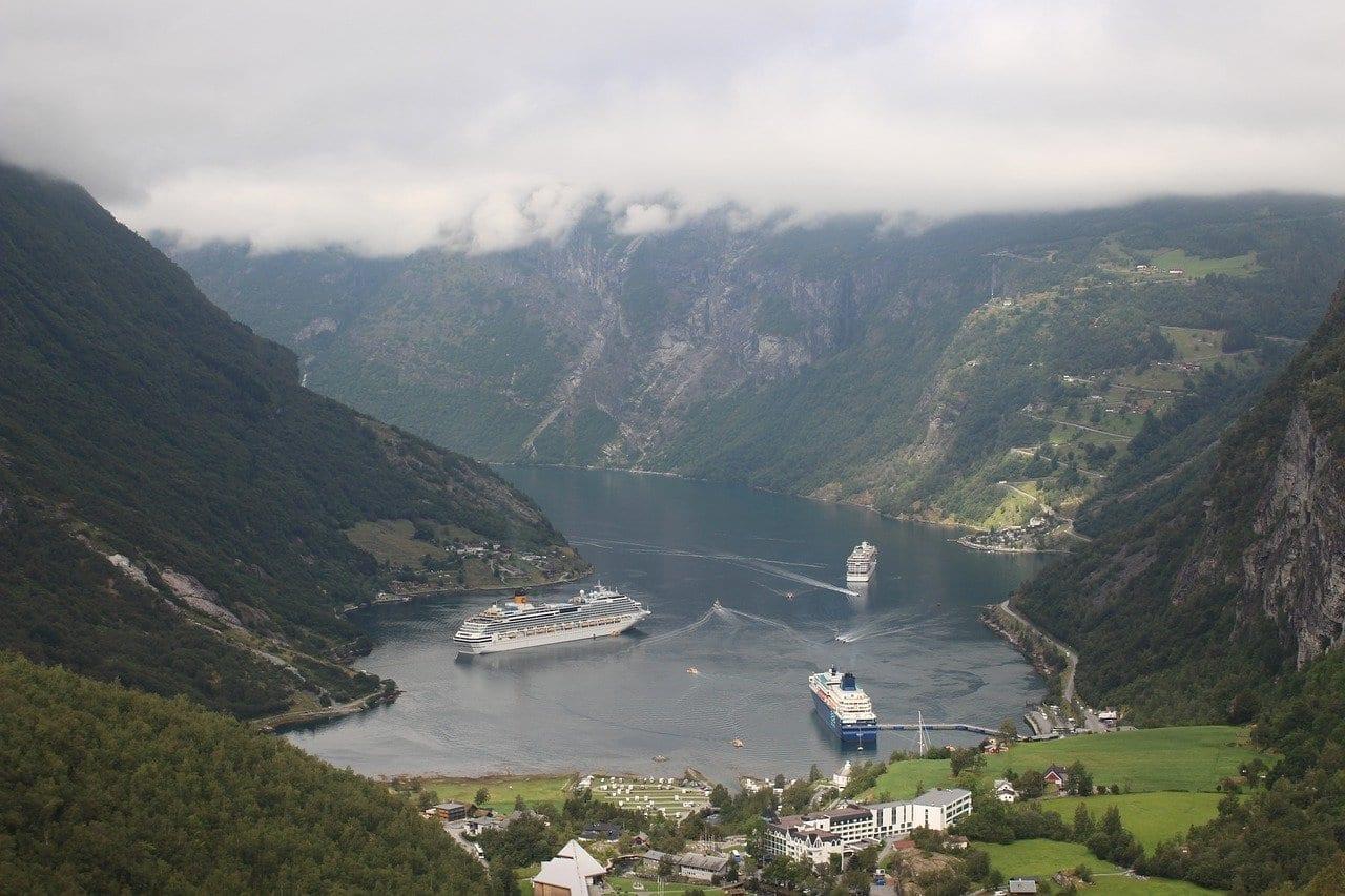 Geiranger Fiordo Noruega Noruega