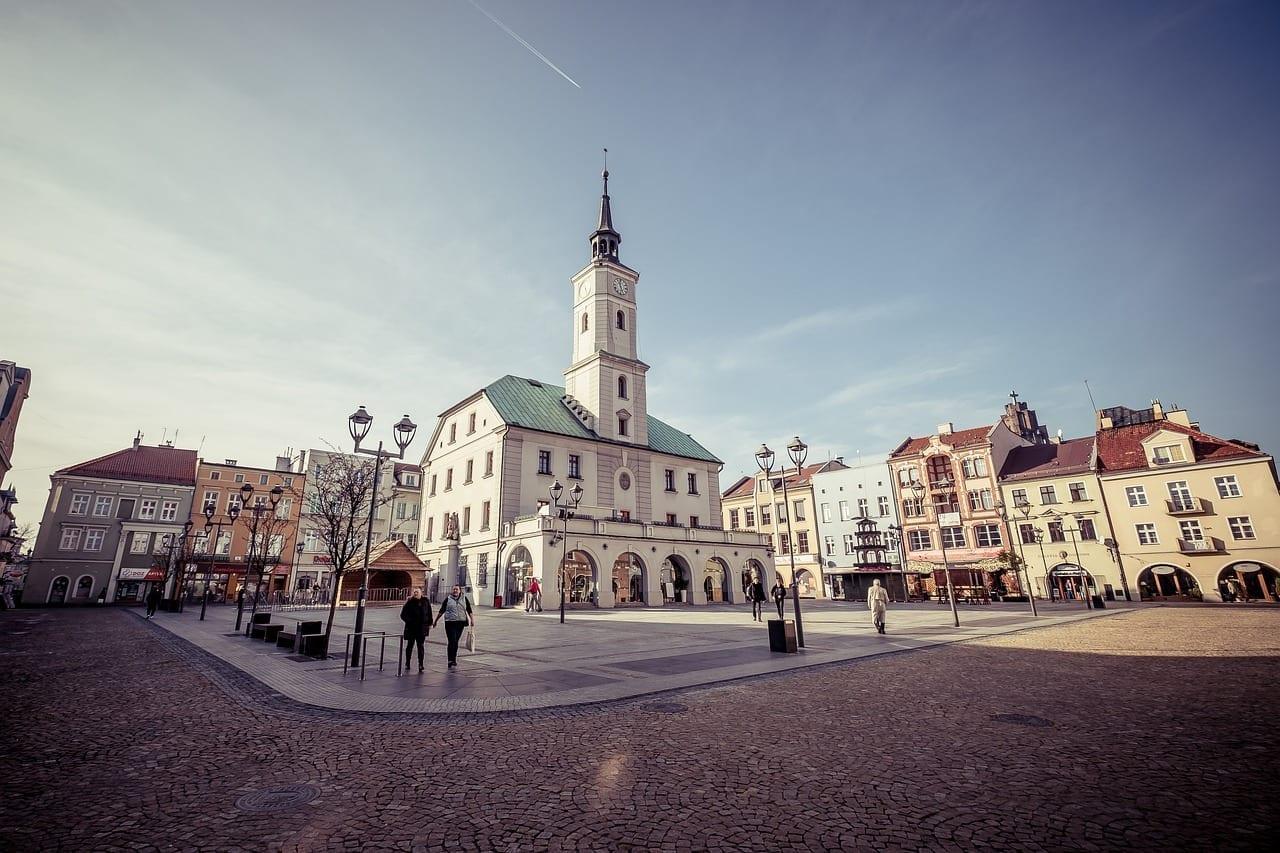 Gliwice El Ayuntamiento Ciudad Polonia