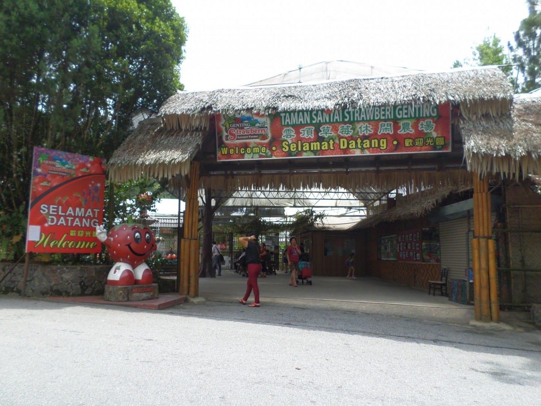 Granja de ocio de Genting Strawberry Genting Highlands Malasia