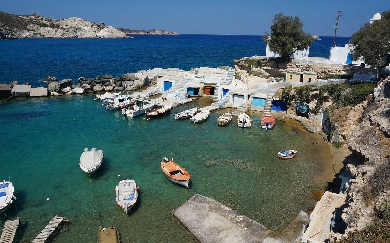 Grecia Isla Griega Milos Grecia