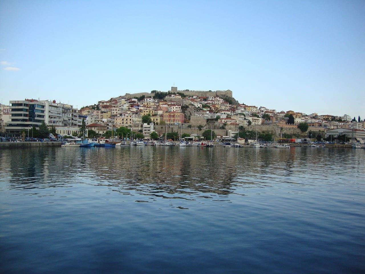 Grecia Kavala Puerto Grecia