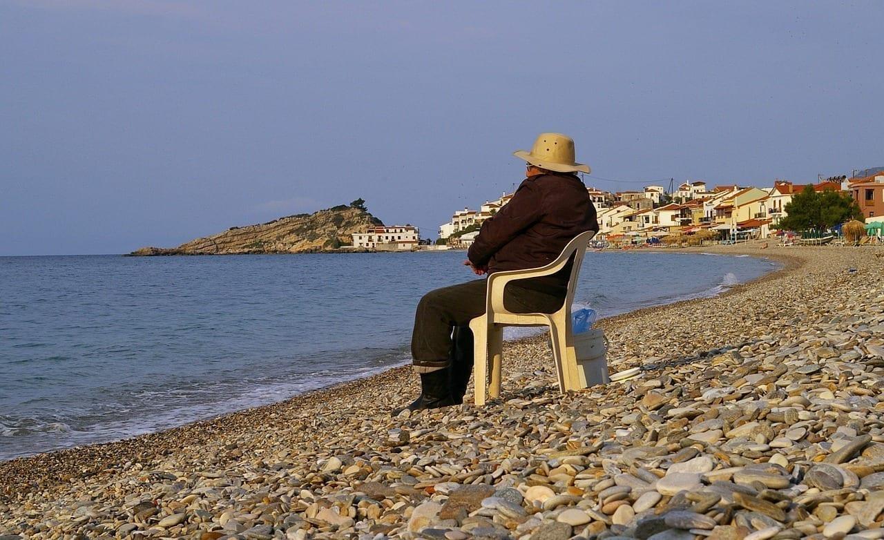 Grecia Samos El Agua Grecia
