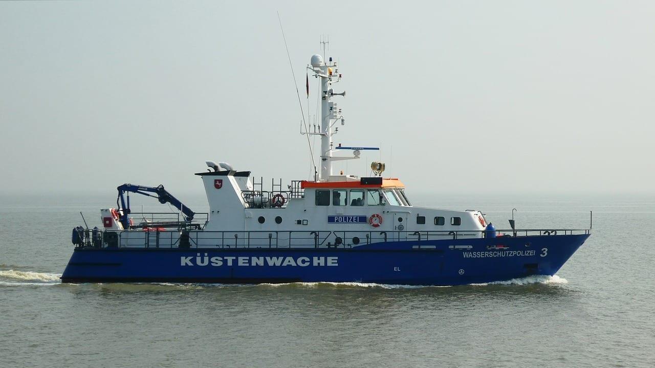 Guardacostas Wilhelmshaven Mar Del Norte Alemania