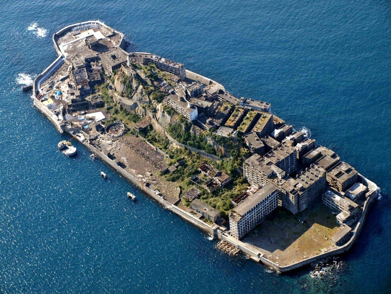 Gunkanjima (Isla del Acorazado) Nagasaki Japón