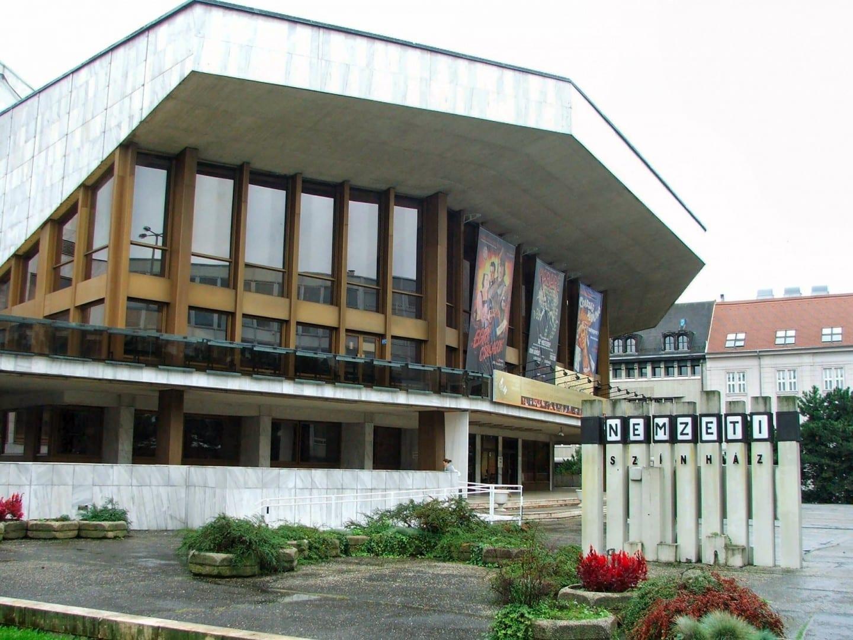 Győr Teatro Nacional Gyor Hungría