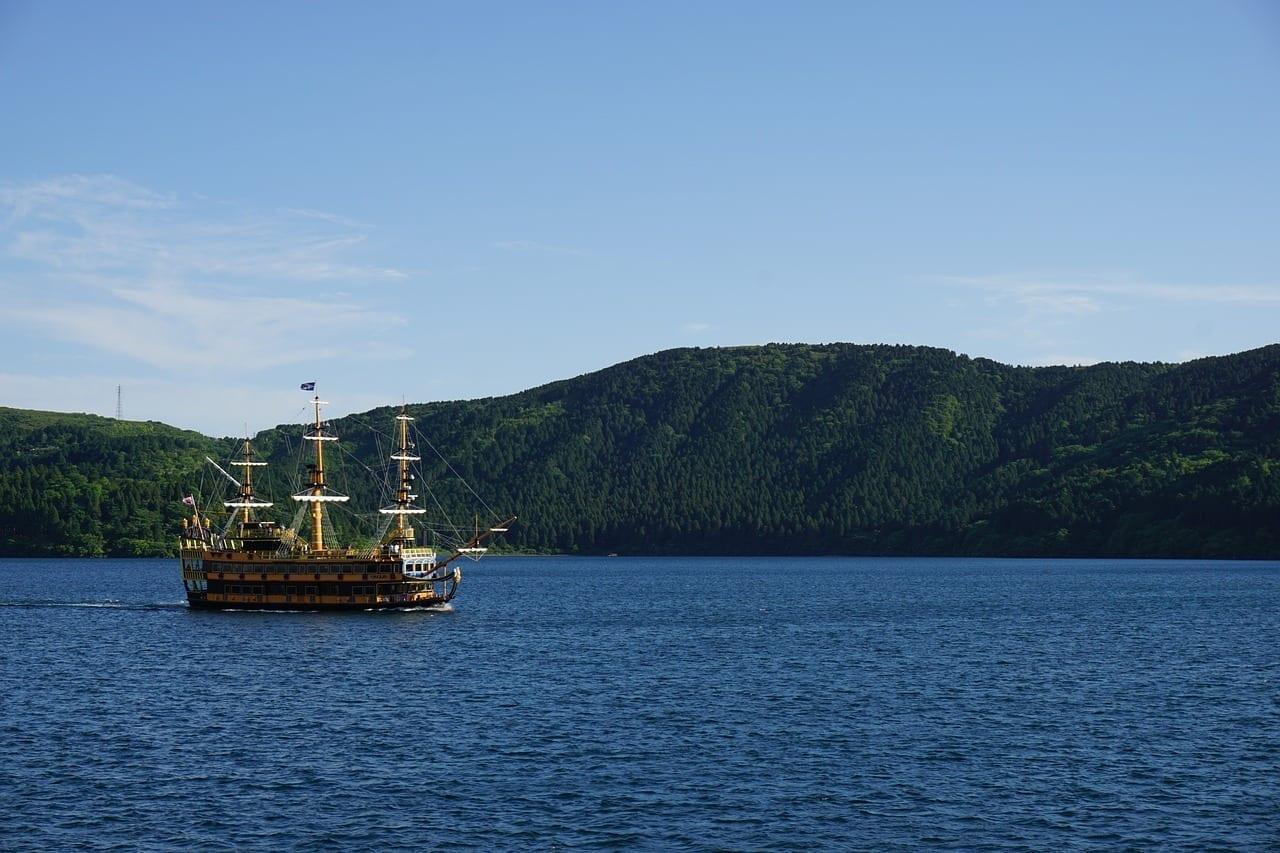 Hakone Barco Pirata Japón Japón