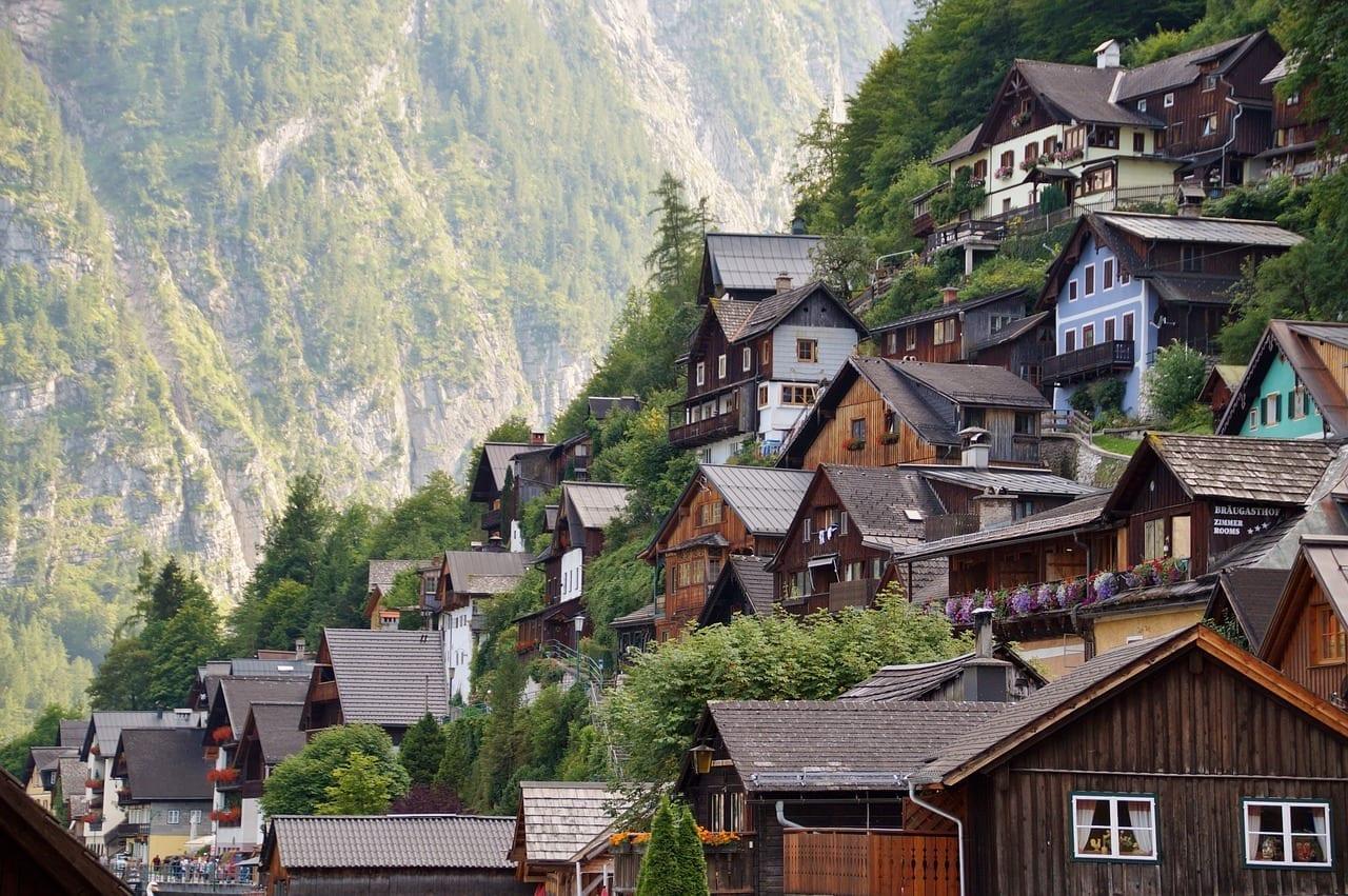 Hallstatt Histórico Ciudad Austria