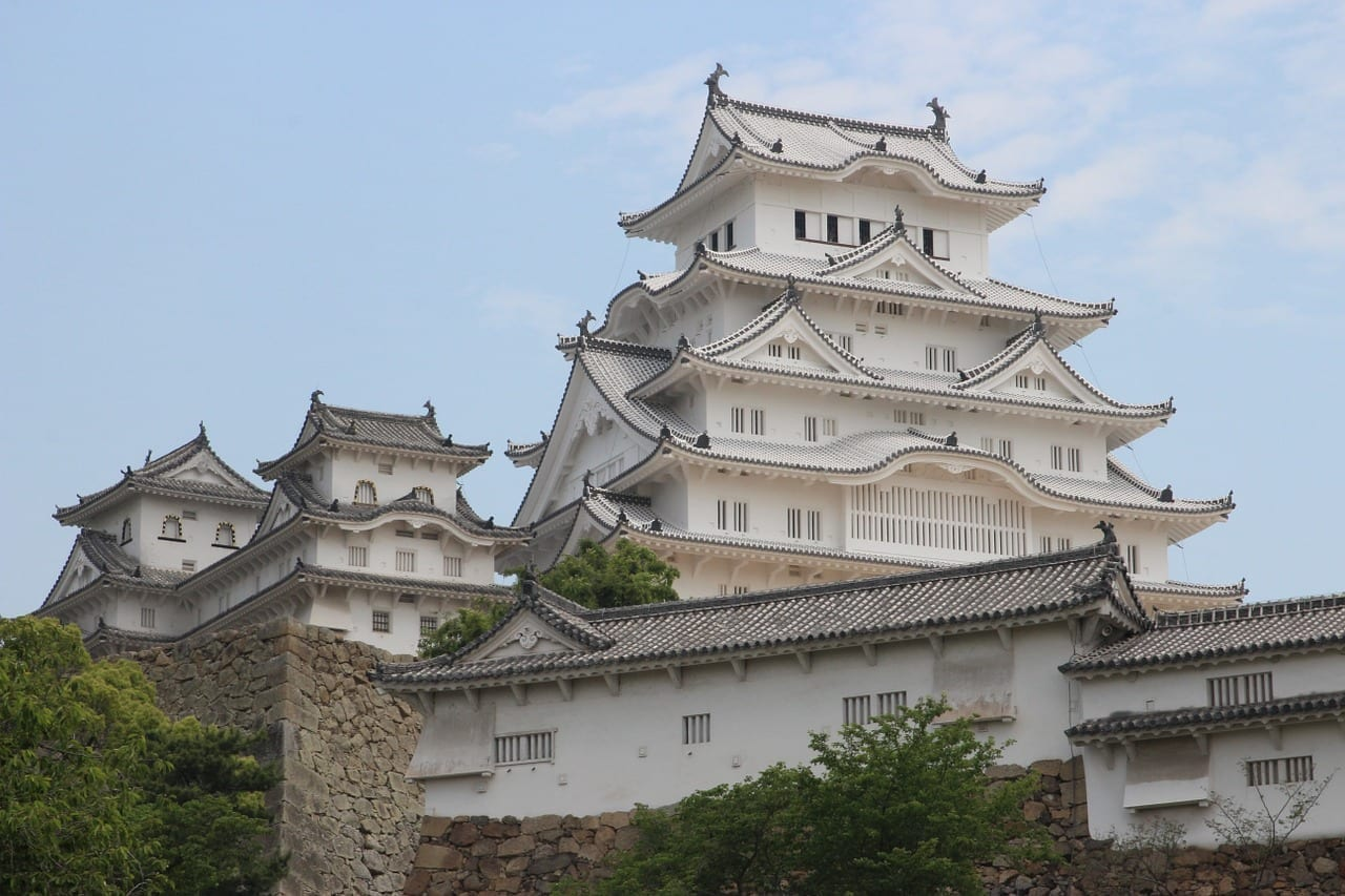 Himeji Castillo Blanco Japón
