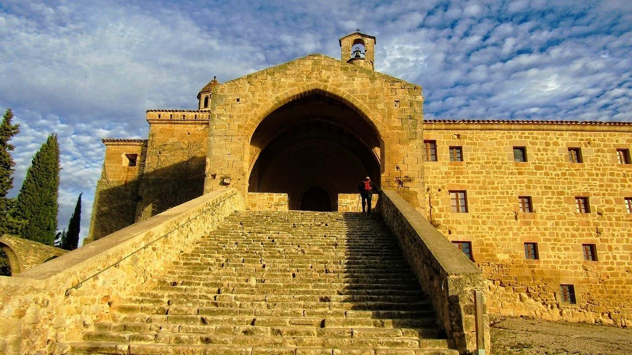 Horta De Sant Joan Convento San Salvador Arquitectura El Salvador