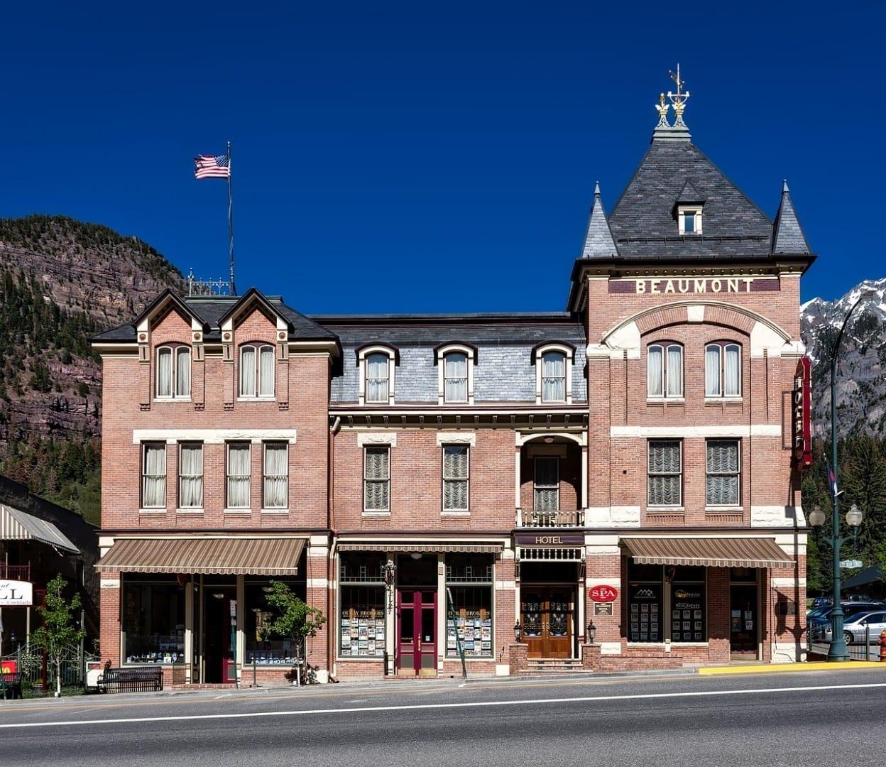 Hotel Beaumont Ouray Colorado Estados Unidos