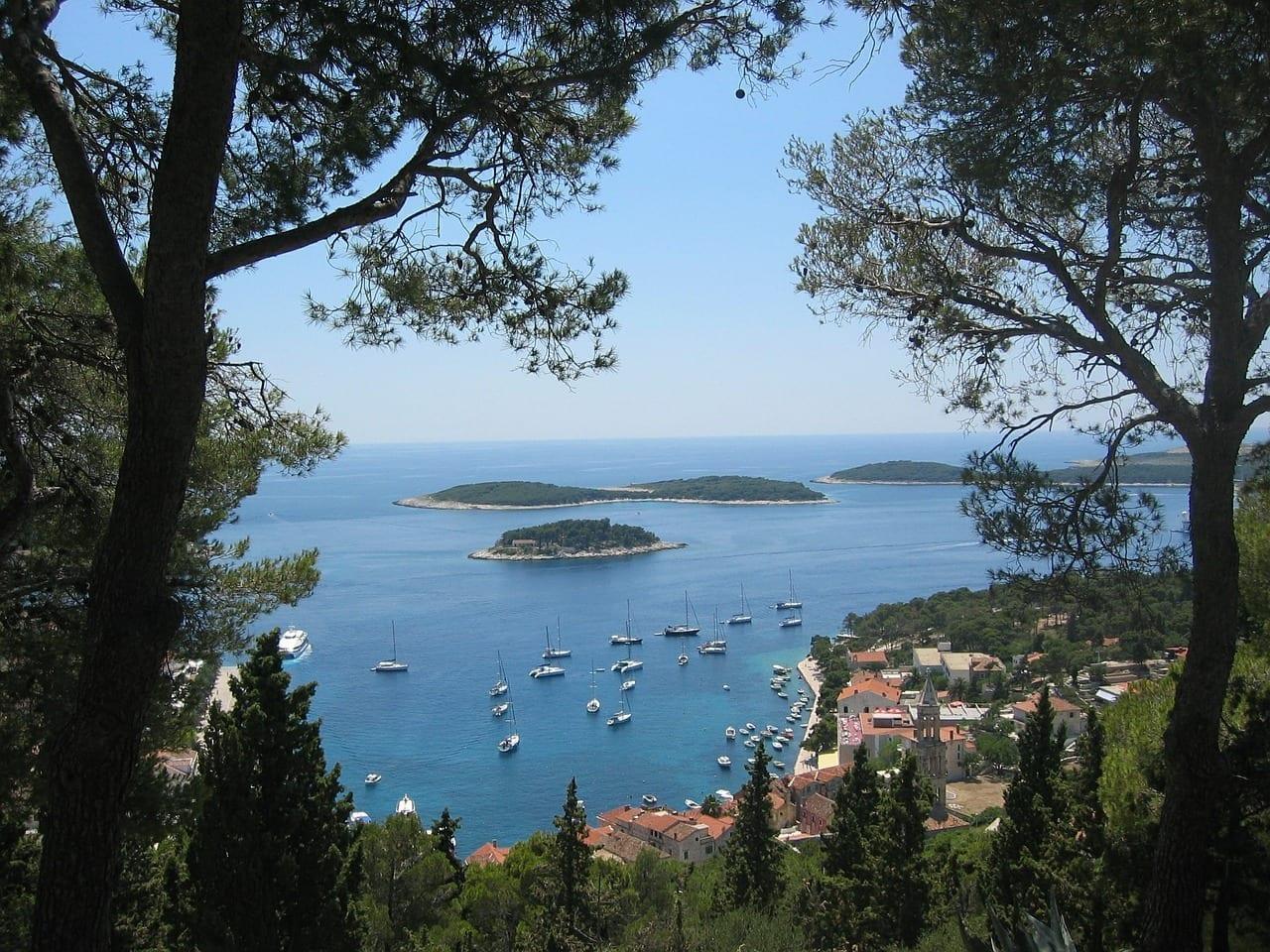 Hvar Mar Adriático Croacia Croacia