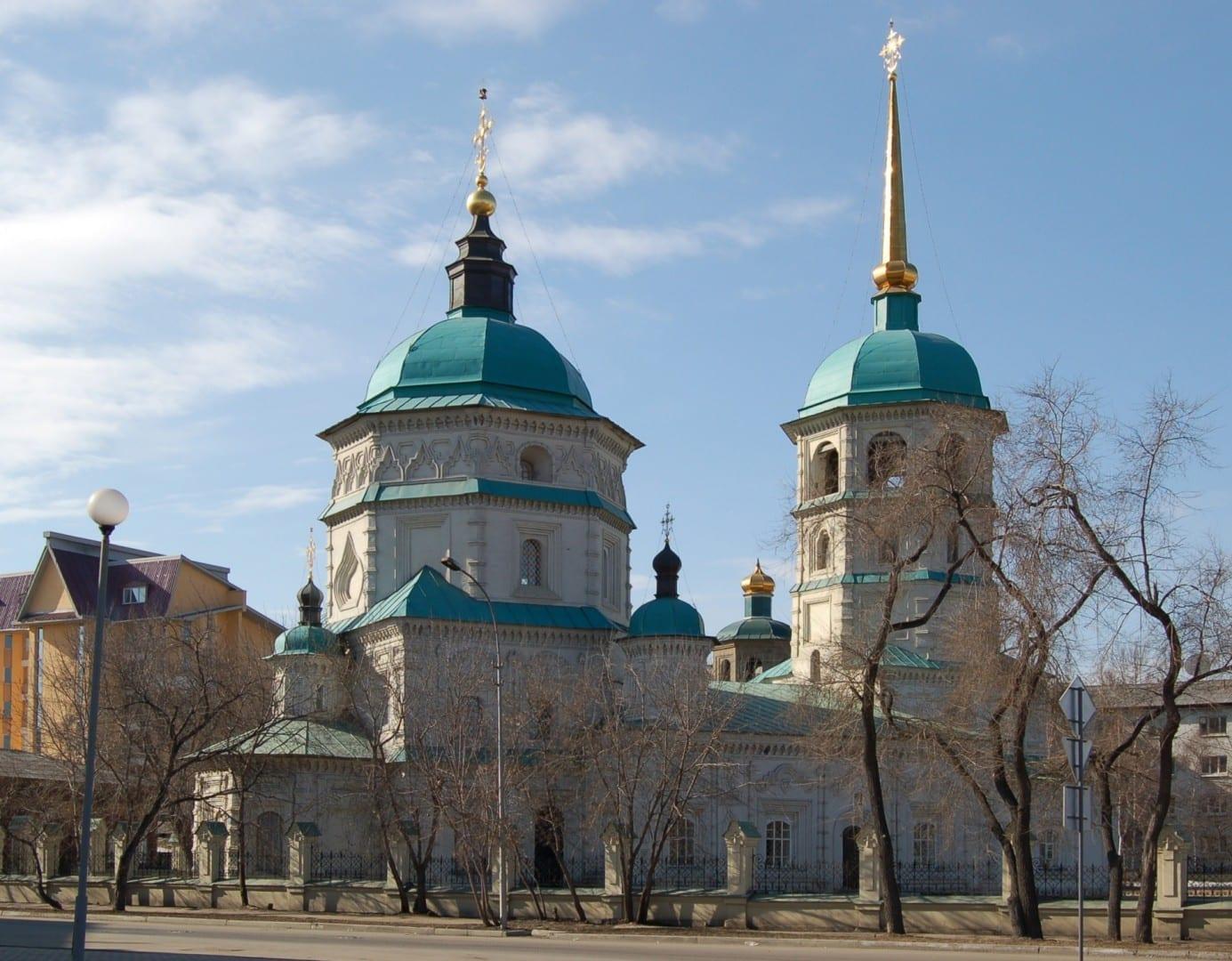 Iglesia de la Santísima Trinidad Irkutsk Rusia