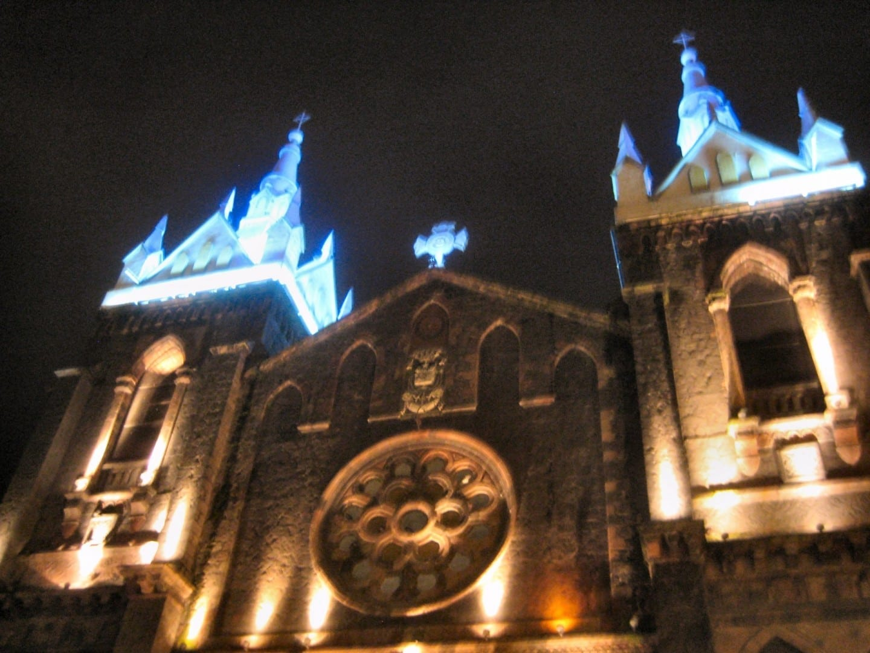 Iglesia de la Virgen del Agua Santa Baños Ecuador