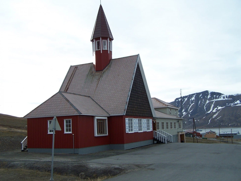 Iglesia de Longyearbyen Longyearbyen Noruega