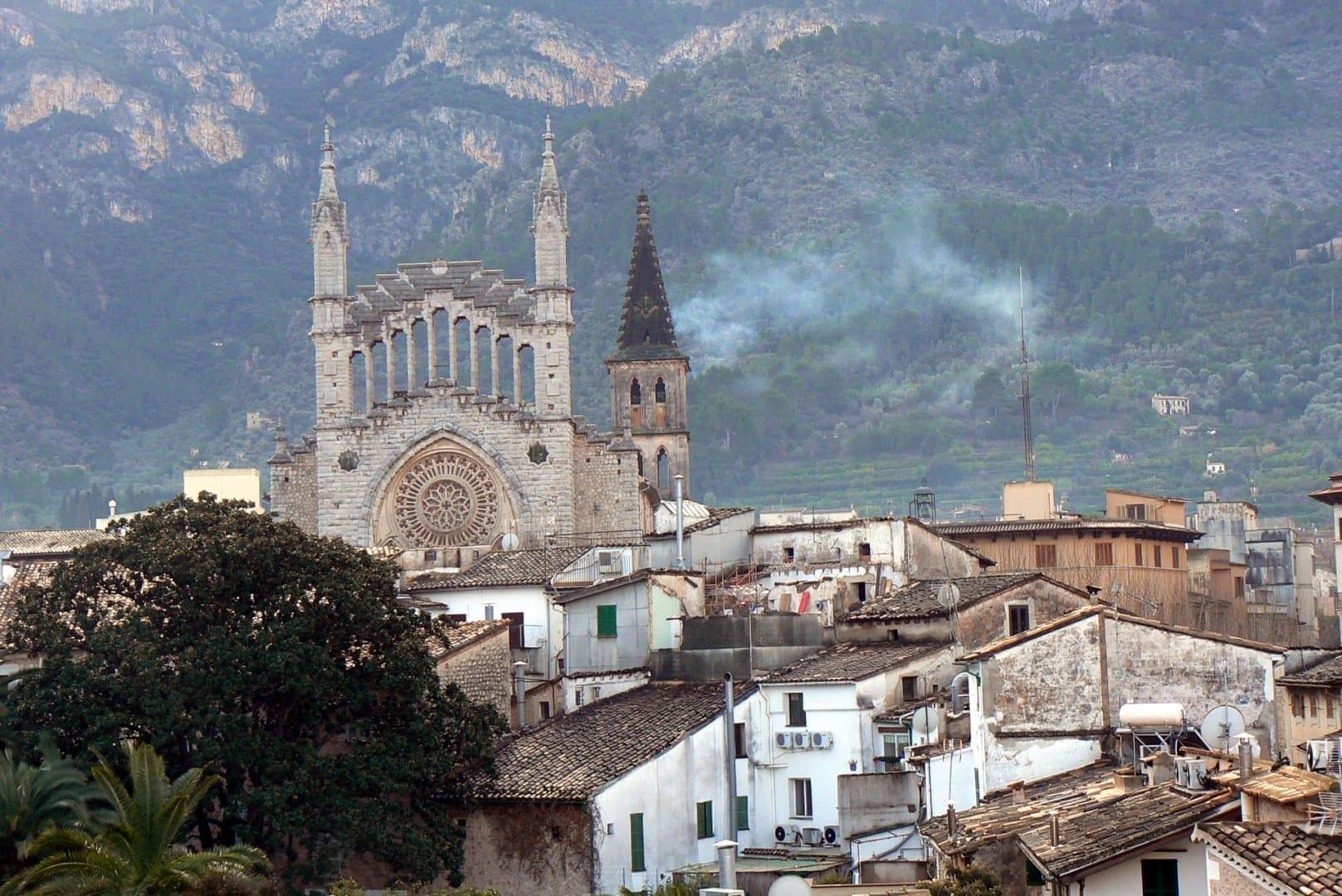 Iglesia de Sóller Sóller, Mallorca España